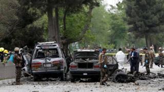 Qaraxa ayaa ka dhacay goob mashquul ah oo ku taalla bartamaha Kabul