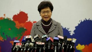 Carrie Lam, Hogaamiyaha cusub ee Hong Kong
