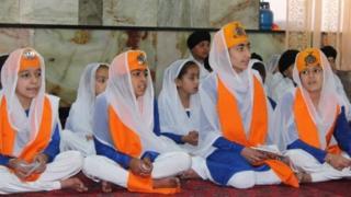 کودکان سیک و هندو در جلال آباد