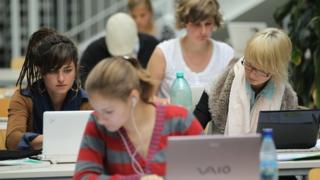 Students in Berlin