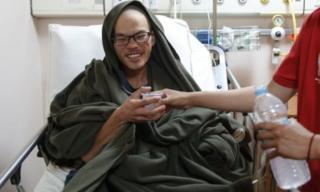 นายเหลียง เช็ง เยว่ อยู่ระหว่างพักรักษาตัวที่โรงพยาบาลนานาชาติแกรนดี ในกรุงกาฐมาณฑุ