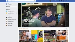 Facebook's watch