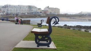 Porthcawl benches