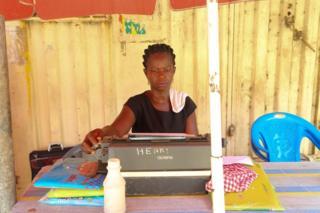 Street lawyer in Ghana