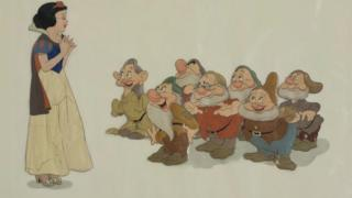 Image from Snow White and the Seven Dwarfs print