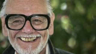Director George A Romero attends a photocall promoting the film Land of the Dead at the Martinez Poolside during the 58th International Cannes Film Festival May 14, 2005 in Cannes, France