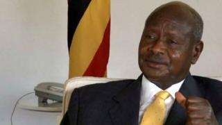 Rais Museveni wa Uganda