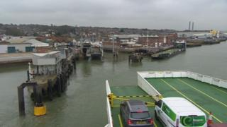 Red Funnel East Cowes terminal