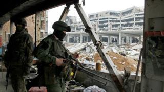 пророссийские сепаратисты в Авдеевке