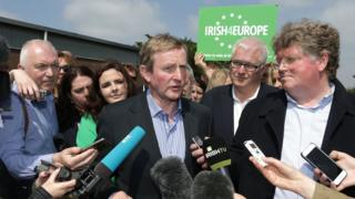Taoiseach (Irish Prime Minister) Enda Kenny visited Ruislip in west London last month to encourage Irish emigrants living in the UK to vote to remain in the EU