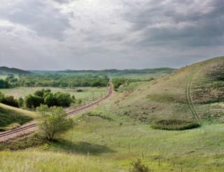 Rumbo oeste desde Oacoma, Dakota del Sur