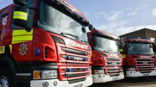 Bedfordshire fire engines