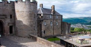 Kastil Stirling, Skotlandia