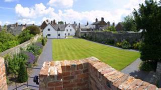 Lord's Garden at Nantclwyd y Dre