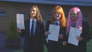 Airdrie Academy pupils