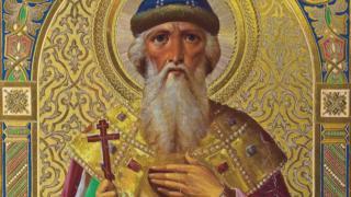 Vladimir the Great - oil on wood panel
