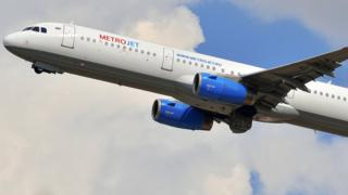 Avião da Metrojet