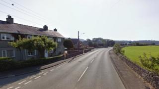 A5025 in Pentraeth