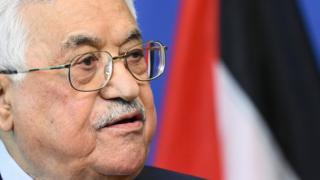 File photo of Mahmoud Abbas