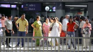India - Delhi metro