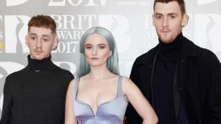 Glastonbury 2017: Clean Bandit recover strain after 'abusive' tweets