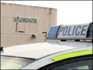 Police at Murdo's