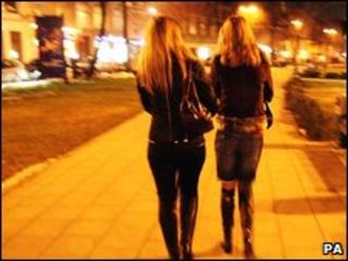 Many trafficking victims are forced into prostitution