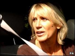 Ingrid Tarrant pictured in 2006