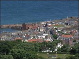 North Berwick. Pic courtsey of Undiscovered Scotland
