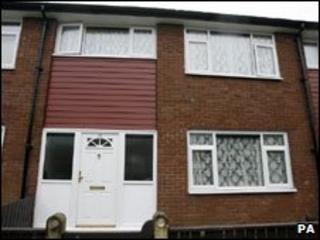 The house at Harlow Close