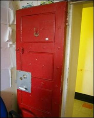 Cell doors from the prison