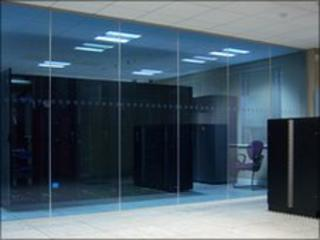 Outsourcery server room
