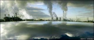 Power station and oil refinery