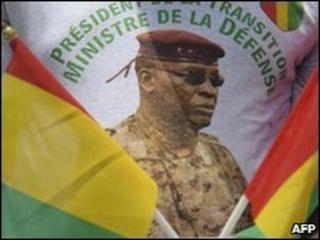 Guinea's interim junta leader General Sekouba Konate