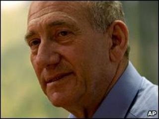 Ehud Olmert appears on TV (15 April 2010)