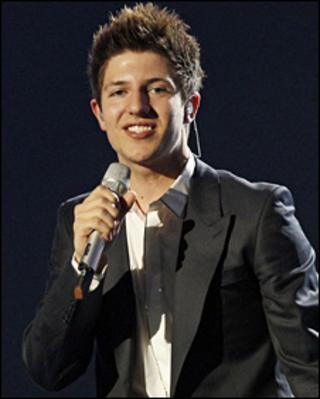 Josh Dubovie, UK entrant in Eurovision 2010