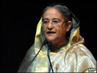 Bangladeshi Prime Minister Sheikh Hasina, file image