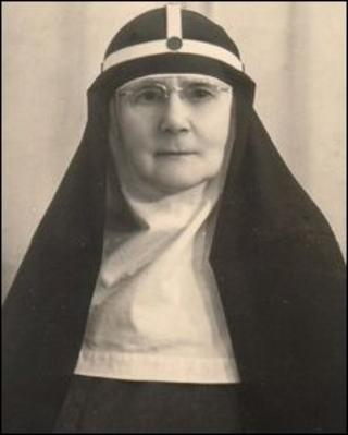 Mother Riccarda Beauchamp Hambrough (from St Mary Magdalene church website)