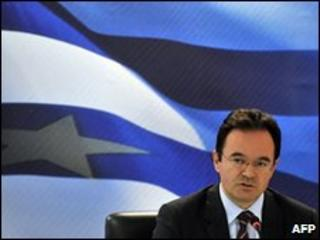 Greek Finance Minister George Papaconstantinou