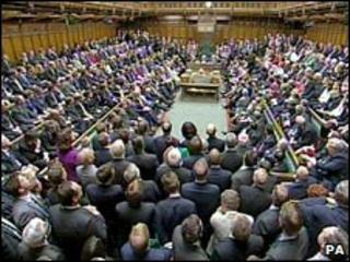 MPs on the first day of the new Parliament