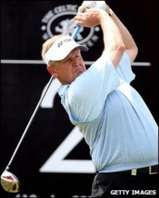 Colin Montgomerie is playing in the Wales Open