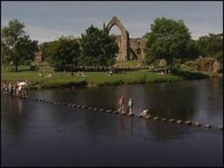 River Wharfe at Bolton Abbey