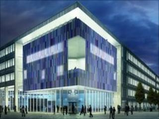 Artist's impression of new Doncaster Council offices