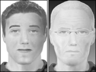 E-fit images of the suspects