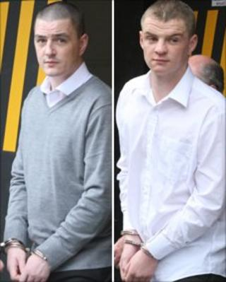 Christopher and Robert Abraham (Pics by Ciaran Donnelly)