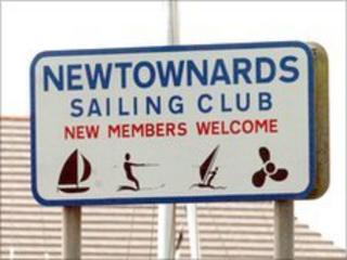 newtownards sailing club sign
