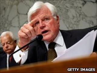 Senator Kennedy was re-elected nine times