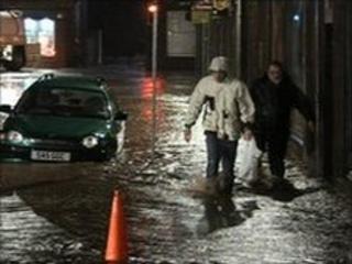 Stonehaven flooding