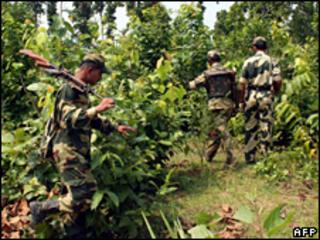 Anti-Maoists operation in West Bengal
