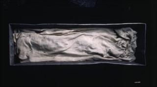 Contents of the coffin. Picture supplied by Landesamt fur Denkmalpflege und Archaologie Sachsen-Anhalt, Juraj Lipt